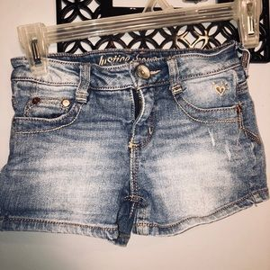 Justice Jeans 👖 jeans shorts girls